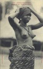 afr001822 - Femme Soussou African Nude Nudes Postcard Post Card