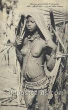 afr001823 - Senegal - Jeune Fille Cerere African Nude Nudes Postcard Post Card