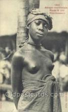afr001824 - Fille Soussou African Nude Nudes Postcard Post Card