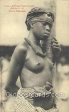 afr001825 - Jeune Soussou African Nude Nudes Postcard Post Card