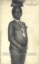 afr001826 - Cerere du Diobas African Nude Nudes Postcard Post Card