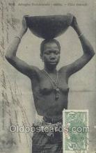 afr001828 - Sengal - Fille Ouolof African Nude Nudes Postcard Post Card