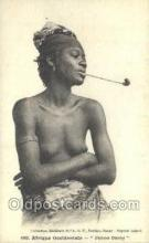 afr001830 - Femme Ouolof African Nude Nudes Postcard Post Card