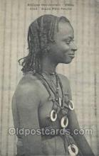 afr001831 - Sengal Jeune Fille Peulhe African Nude Nudes Postcard Post Card