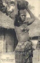 afr001834 - Jeune Mandingue African Nude Nudes Postcard Post Card