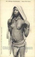 afr001836 - Jeune Fille Cerere African Nude Nudes Postcard Post Card