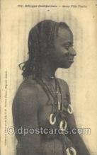 afr001839 - Jeune Fille Peulhe African Nude Nudes Postcard Post Card