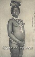 afr001841 - Cerere du Diobas African Nude Nudes Postcard Post Card