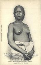 afr001844 - Jeune Fille de Goree African Nude Nudes Postcard Post Card