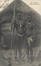 afr001846 - Senegal African Nude Nudes Postcard Post Card
