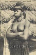 afr001848 - Jeune Foulsh African Nude Nudes Postcard Post Card