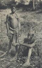 afr001853 - Guinee Soudan Malinke African Nude Nudes Postcard Post Card