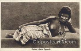 afr001859 - Costumi Africa Orientale African Nude Nudes Postcard Post Card
