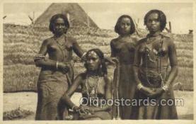 afr001860 - Costumi Africa Orientale African Nude Nudes Postcard Post Card