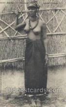 afr001864 - Jeune Foulsh African Nude Nudes Postcard Post Card