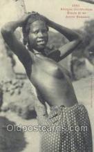 afr001867 - Jeune Soussou African Nude Nudes Postcard Post Card