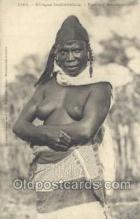 afr001869 - Femme Saussai African Nude Nudes Postcard Post Card