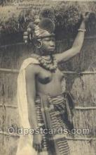 afr001873 - Femme Foulah African Nude Nudes Postcard Post Card