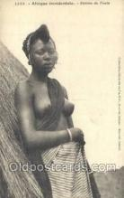 afr001876 - Femme du Fouta African Nude Nudes Postcard Post Card