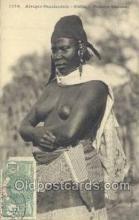 afr001878 - Femme Saussai African Nude Nudes Postcard Post Card