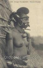 afr001884 - Femme Foulah African Nude Nudes Postcard Post Card