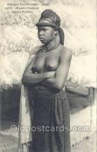 afr001886 - African Nude Nudes Postcard Post Card