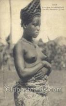 afr001888 - African Nude Nudes Postcard Post Card