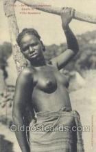 afr001890 - African Nude Nudes Postcard Post Card