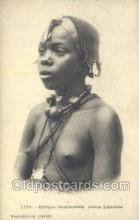 afr001892 - African Nude Nudes Postcard Post Card