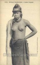 afr001893 - African Nude Nudes Postcard Post Card