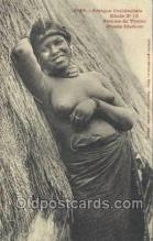 afr001895 - African Nude Nudes Postcard Post Card