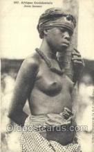 afr001898 - African Nude Nudes Postcard Post Card