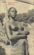 afr001899 - African Nude Nudes Postcard Post Card