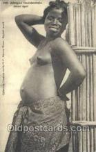 afr001901 - African Nude Nudes Postcard Post Card