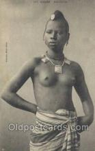 afr001909 - African Nude Nudes Postcard Post Card