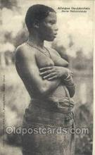 afr001912 - African Nude Nudes Postcard Post Card