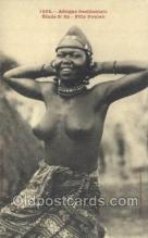 afr001914 - African Nude Nudes Postcard Post Card