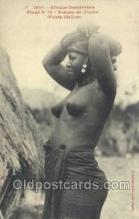 afr001916 - African Nude Nudes Postcard Post Card