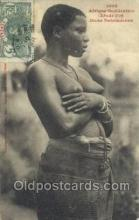 afr001917 - African Nude Nudes Postcard Post Card