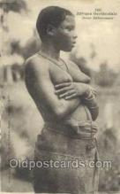 afr001918 - African Nude Nudes Postcard Post Card