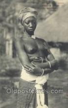 afr001919 - African Nude Nudes Postcard Post Card