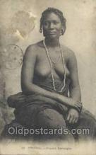 afr001923 - African Nude Nudes Postcard Post Card