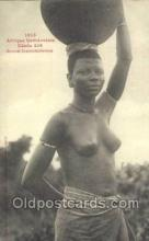 afr001924 - African Nude Nudes Postcard Post Card