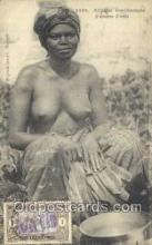 afr001931 - African Nude Nudes Postcard Post Card