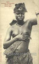 afr001935 - African Nude Nudes Postcard Post Card