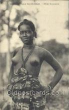 afr001936 - African Nude Nudes Postcard Post Card