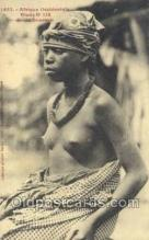 afr001939 - African Nude Nudes Postcard Post Card