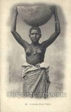 afr001945 - African Nude Nudes Postcard Post Card