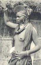 afr001946 - African Nude Nudes Postcard Post Card