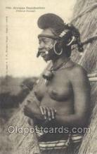 afr001947 - African Nude Nudes Postcard Post Card